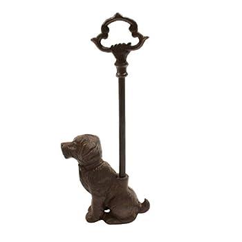 TG,LLC Treasure Gurus Cast Iron Heavy Pet Dog Portable Door Porter Stopper Blocker Jam Stop Doorstop