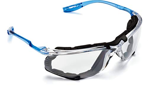 3M Safety Glasses, Virtua CCS Protective Eyewear 11872, Removable Foam covid 19 (masks for germ protection coronavirus)