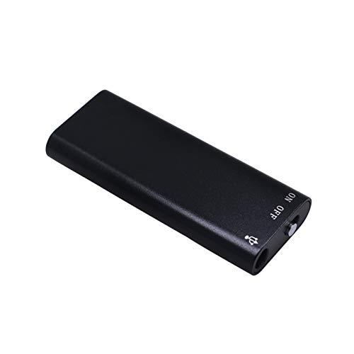 8GB USB Mini grabadora de Voz Reproductor de MP3 Profesional Voz Digital/Sonido/Flash Recorder Dicthone Grabadora de Voz (Capacity : 8GB)