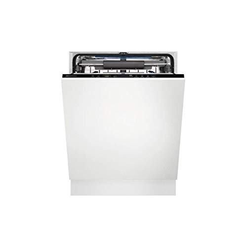 Electrolux EES69300L Lavastoviglie da Incasso a Scomparsa Totale, 46 Decibel, Acciaio/Inox