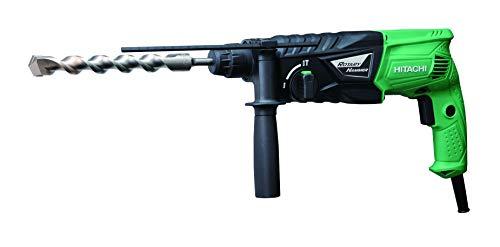 clasificación y comparación Martillo perforador Hitachi DH24PGWS DH24PG 2.7J, 730 W, 230 V, negro, verde, 0 para casa