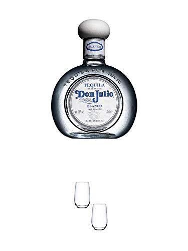 Don Julio Blanco Tequila 0,7 Liter + Tequilaglas Riedel 0414/81-2 Stk.