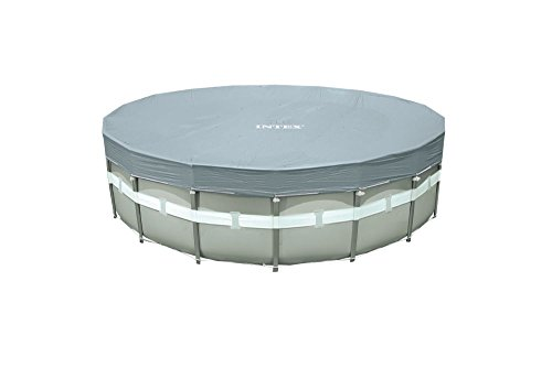 Intex telo copertura copri piscina ultra frame rotonda 549 cm deluxe 57900 28041