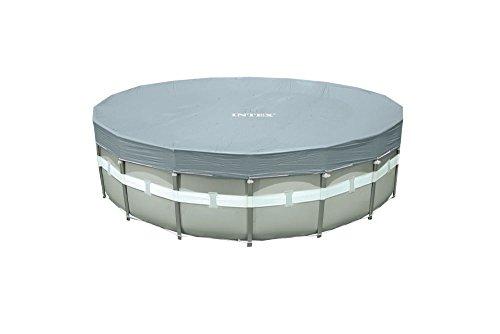 Intex Cubierta protectora para piscinas con marco de 549 cm de diámetro, 5,49 m