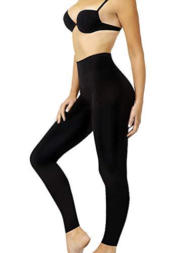 Control Leggings Seamless Shapewear Tummy Legs Body Slimming Black S M L XL 2XL (L 16/18)