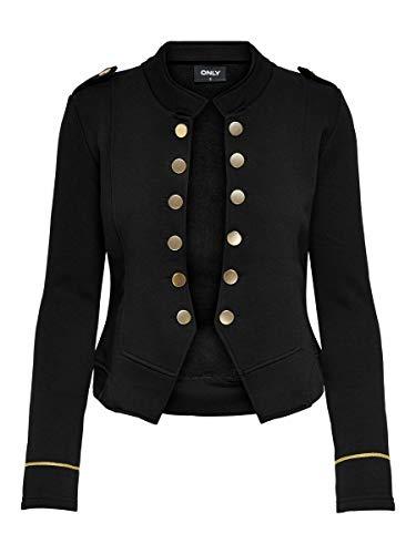 ONLY Damen ONLANETTA L/S SWT Blazer, Black, M