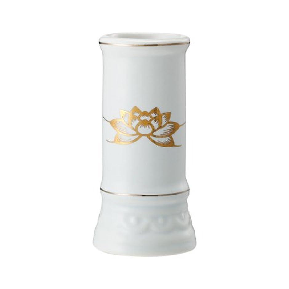 通路固体慰め日本香堂 線香立て ミニ陶器白磁