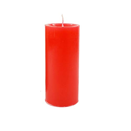 KuTi Kai 1pc Low Temperature Candles Wax Dripping Candles Romantic Atmosphere Maker (Red)