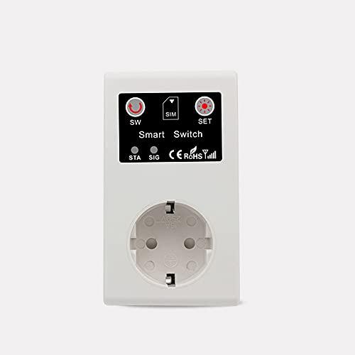 Enchufe inteligente GSM para llamada, SMS, aplicación con mando a distancia, interruptor, dispositivo eléctrico, enchufes inteligentes