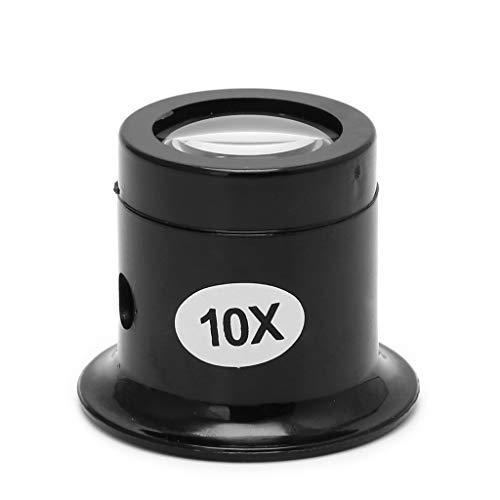 BUIDI 5X 10X Monokular Lupe Lupenlinse Juwelier Werkzeug Augenlupe
