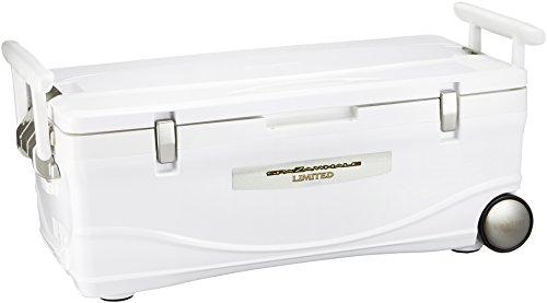 シマノ(SHIMANO) クーラーボックス 大型 45L スペーザ ホエール リミテッド キャスター付 450HC-045L 釣り用 アイスホワイト