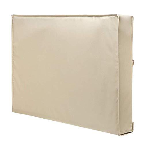 SAMZO Protector impermeable universal interior de la pantalla de la cubierta de la televisión al aire libre con prenda impermeable