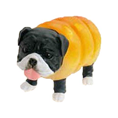 Capsule Toy Anicolla Series Inupan Dogs in Bread Mascot Keychain Collection, Design 5