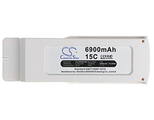 CS - Batería de polímero de litio (6900 mAh, compatible con Blade Chroma Camera Drone, BLH8619, BLH8665, sustituye a Blade BLH8619)
