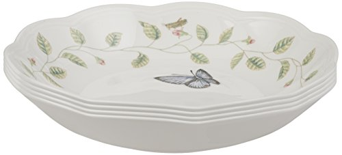 Lenox Butterfly Meadow Individual Pasta Bowls, Set of 4