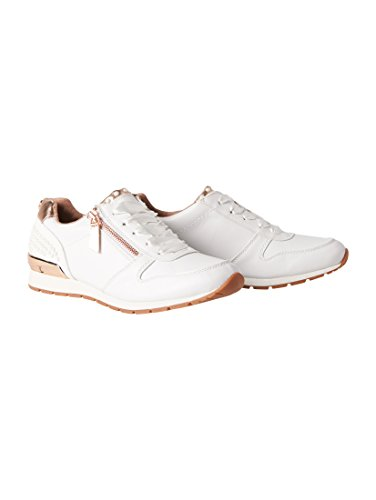 TOM TAILOR Damen 4894106 Sneaker, Weiß (White), 38 EU