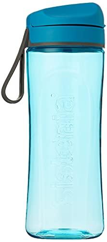 Sistema Hydrate Tritan Swift Bottle-600 ml, Assorted Colours, 9 x 7.3 x...