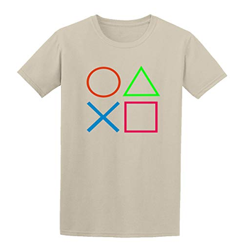 DT Playstation 4 Controller PS4 PS3 PS2 Consola Playstation Camiseta para niños Marrón Arena XS /3-4 años