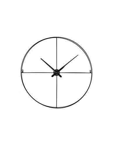 emotion 107115 Horloge, Métal, Noir, 80 CM