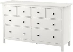 Ikea 8-drawer dresser, white stain 228.52617.3834