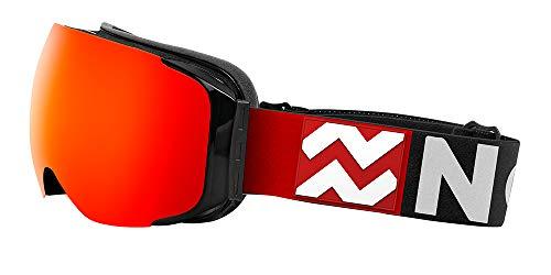 NORTHWEEK Magnet Redwood - Gafas de Sol de Nieve para Hombres y Mujeres, Rojo