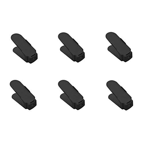 Zapatero de almacenamiento 6 unids / 2pcs Doble zapato Rack no ajustable Slipper Organizer Rango Zapatos Soporte Soporte Soporte Espacio Saver Estante de plástico Fácil de montar y ahorrar espacio.