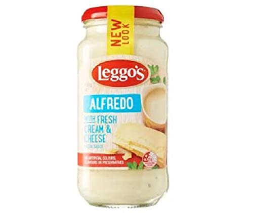 Leggo's Alfredo Cremoso Pasta Sauce 490g - Leggo's Alfredo cremoso Pasta Sauce es una auténtica y rica salsa cremosa de sabor con crema fresca, queso y hierbas italianas