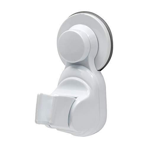 シャワーフック 強粘着 シャワーヘッドホルダー 繰り返し 取り付けられて 吸盤式 無打孔 固定 角度調節可能 花こぼれ台は浴室ノズルホルダー