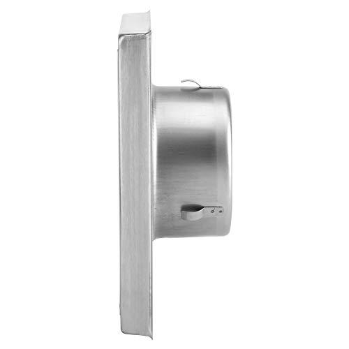 Conducto de ventilación cuadrado, rejilla de conducto de ventilación cuadrada duradera, para...