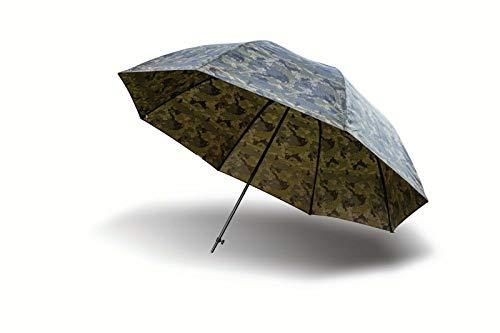 Solar Tackle Unisex's Undercover CAMO 60' BROLLY Umbrella, Camouflage