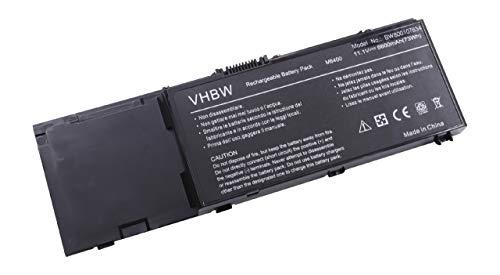 vhbw Batterie Li-ION 6600mAh (11.1V) pour Ordinateur Portable Notebook Dell Precision M6400, M6500 comme GN752, H355F, J012F, KR854, PP08X, RK547