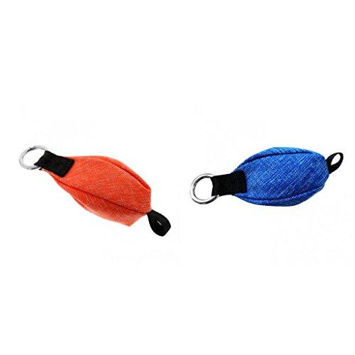 Sharplace Jet Throw-Bag 250 g Poids de Lancer d'escalade Orange Bleu 2X