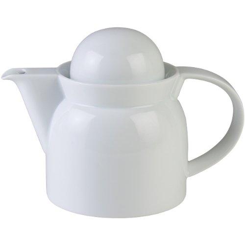 白山陶器 S型ドレッシングポット(大) 白 (約)φ10×12.5cm 280ml 波佐見焼 日本製