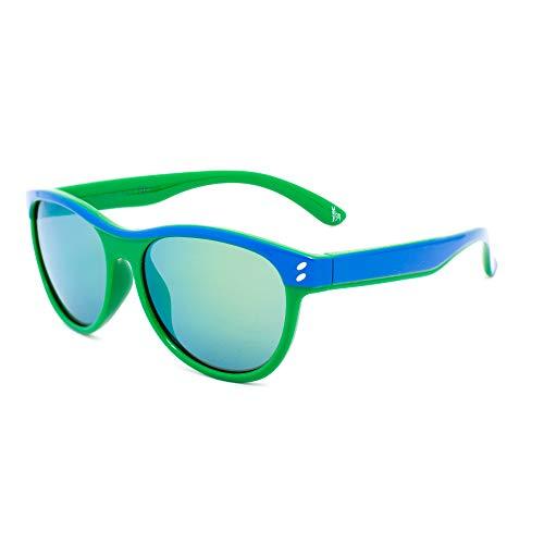 Stella McCartney SK0004S-005 Gafas, verde - azul, 48/14/130 Unisex niños