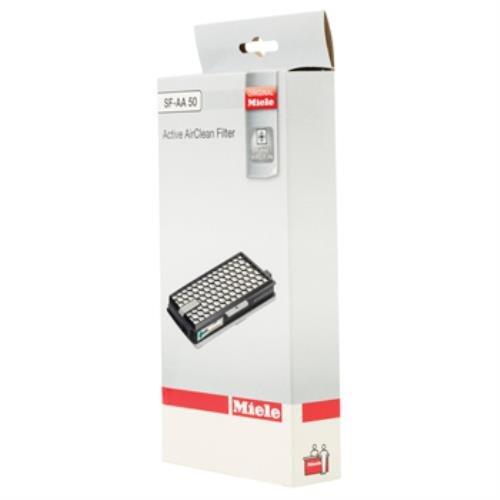 Original Miele Active AirClean Filter (50-SF AA) mit TimeStrip Diese Filiter ist ideal, wenn Sie Haustiere wie Es hilft dabei Gerüche zu Bay geeignet für S4000/S5000 S6000 und S8000 Serie und kompakt, C2, C3, komplett C2 komplett