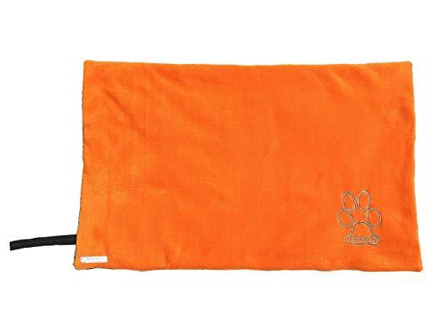 Hundedecke zusammenrollbar, mit Namen möglich, Decke Hund, Outdoor, draußen, wasserdicht, wetterfest, Fleece
