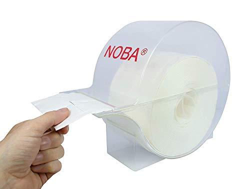 Zellettenbox + 500 (= 1 Rouleau) Cellulose Ecouvillon Stérile Nobazelltupf par Rouleau Emballage Stérile de Noba