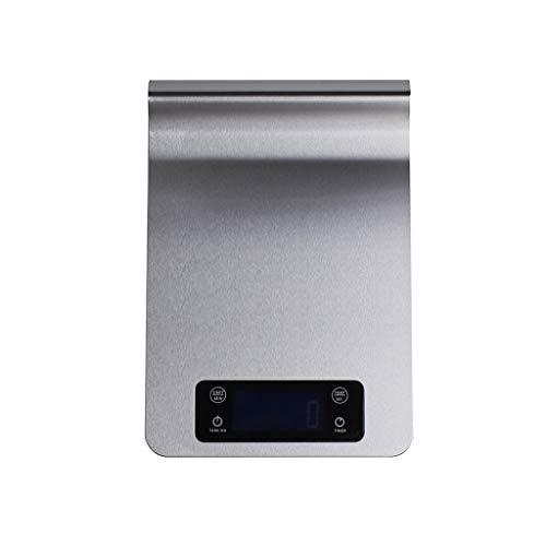 Digitale keukenweegschaal LCD elektronische keukenweegschaal keukenweegschaal keukenweegschaal keukenweegschaal keukenweegschaal keukenweegschaal roestvrij staal digitale levensmiddelweegschaal 5000g / 1g monitor
