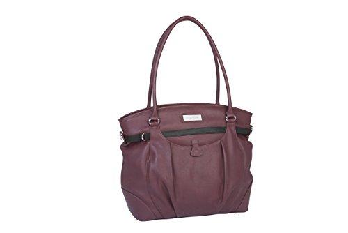Babymoov A043572 Wickeltasche Glitter Bag, cherry