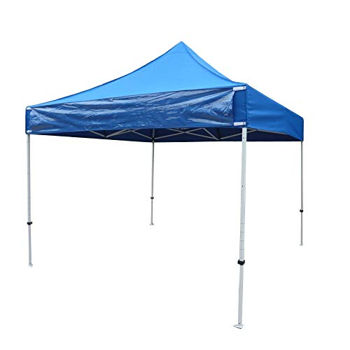 Formosa Covers 10ft X 10ft Replacement Canopy Royal with one Detachable Sign Display Panel (Top Only)