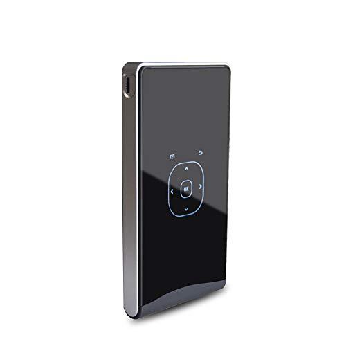 Mini proyector portátil, proyector de Cine en casa con Pantalla LCD 20000 Horas Led Bluetooth 4.4 Compatible con Entrada 1080p Hdmi/Vga/USB/SD/AV
