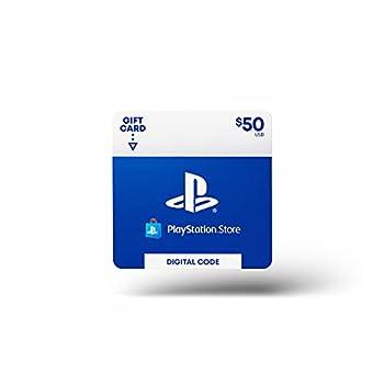 $50 PlayStation Store Gift Card [Digital Code]