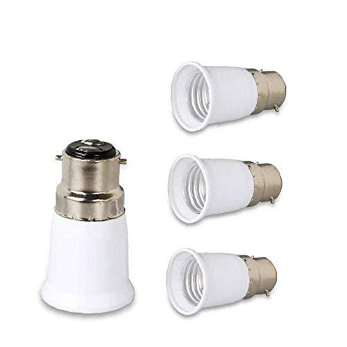 4piece B22 À E27 Adaptateur Douille De Lampe Stopping Ampoule À Vis Socket Support pour Ampoule LED Lampe Halogène Lumière
