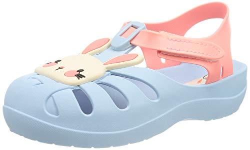 Ipanema Summer VII Baby, Sandalia Bebé-Niñas, Azul y Rosa, 22.5 EU