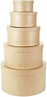round stacking boxes