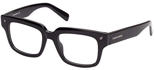 DSQUARED2 Gafas de Vista DQ 5342 Black 48/18/135 unisex