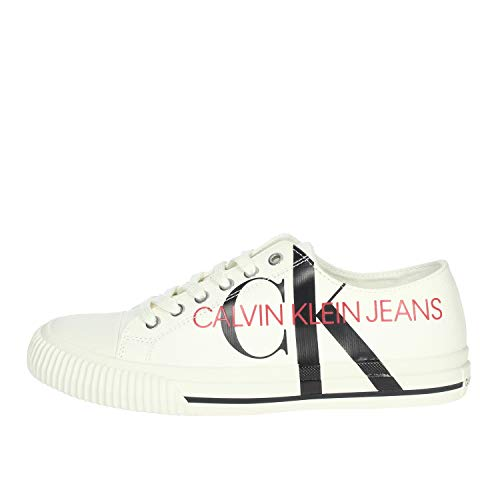 Calvin Klein Jeans B4S0638 Sneakers Hombre Blanco Nata 41
