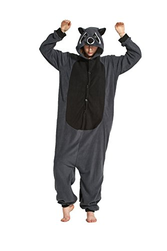 Fandecie Unisex Adulto Animal Costume Traje Pijamas Jumpsuit Mujer Hombre Cosplay para Carnaval Animal Halloween