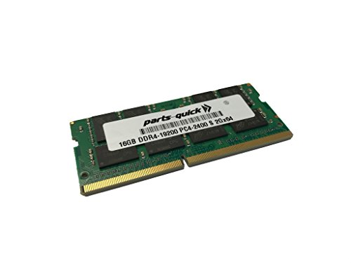 16GB (1X16GB) Memory for HP EliteBook 840 G6 Notebook PC Compatible RAM Upgrade DDR4-2400 SODIMM (PARTS-QUICK Brand)