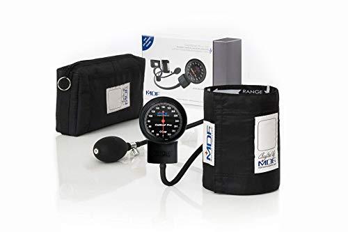MDF® Calibra Pro Aneroid Blutdruckmessgerät - Professionelles Blutdruckmessgerät - Schwarz (MDF808B-11)